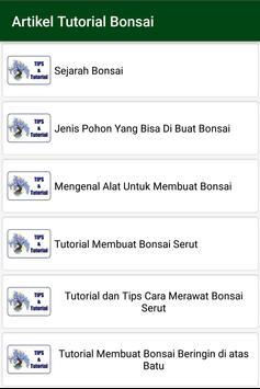 Ide Desain Bonsai screenshot 1