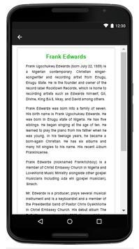 Frank Edwards - Music And Lyrics screenshot 4