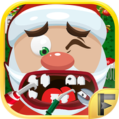 Crazy Santa Christmas Dentist icon