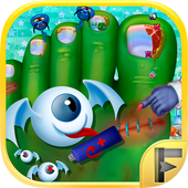 Crazy Monster Toe Nail Doctor icon