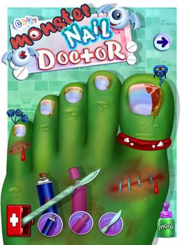 Crazy Monster Toe Nail Doctor poster