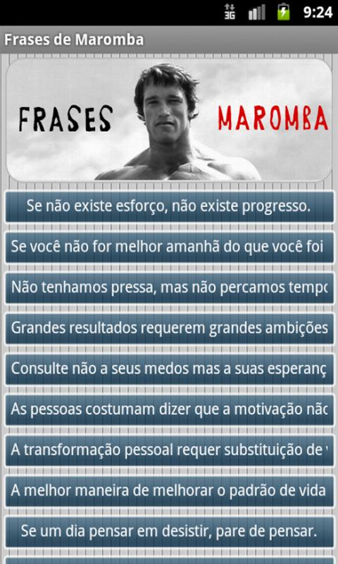 Frases De Maromba For Android Apk Download