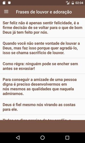 Frases De Louvor For Android Apk Download