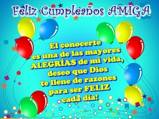 Frases De Feliz Cumple Amiga For Android Apk Download
