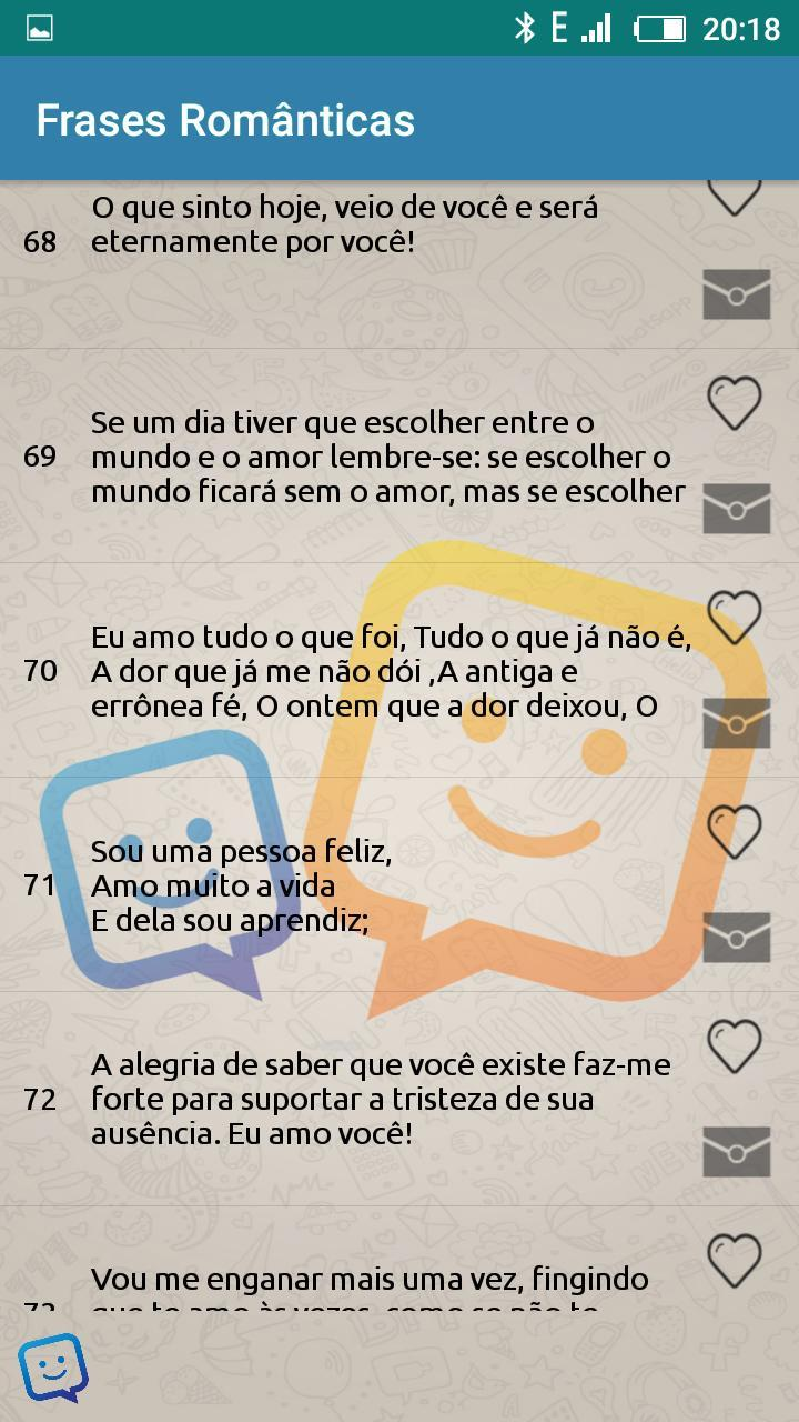 Novo Frases Cortas 2018 For Android Apk