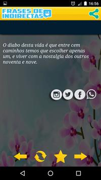 NOVO ❦ FRASES DE INDIRETAS ❦ screenshot 12