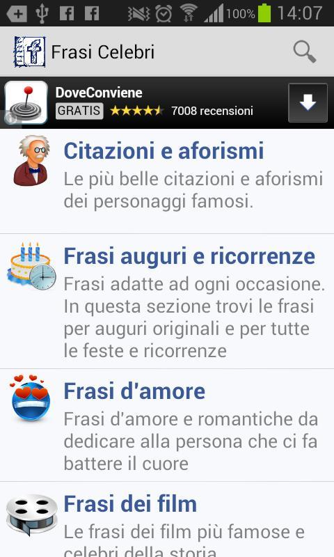 Frasi Celebri For Android Apk Download