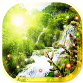 Waterfall Sunny Spring icon