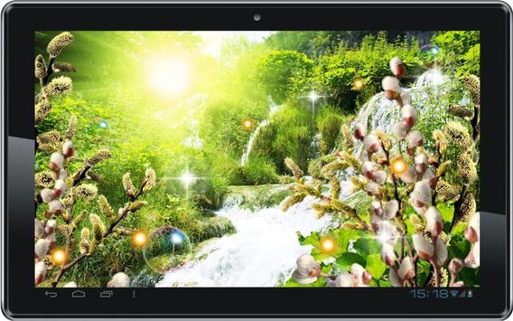 Waterfall Sunny Spring screenshot 1