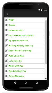 Frankie Valli - Music And Lyrics screenshot 2