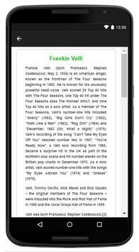 Frankie Valli - Music And Lyrics screenshot 4