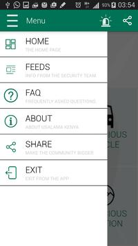 Usalama Kenya screenshot 2