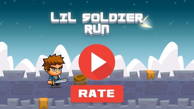 Lil Soldier Run apk screenshot