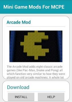 Mini Game Mods For MCPE screenshot 8