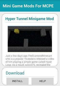 Mini Game Mods For MCPE screenshot 2