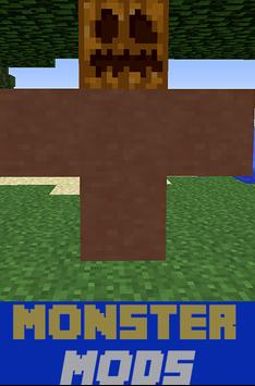 Monster Mods For MCPE poster