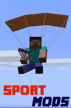 Sport MODS For MCPE poster