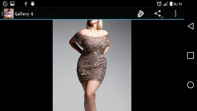 Plus Size Dresses apk screenshot