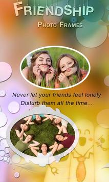 Friendship Day Photo frame poster