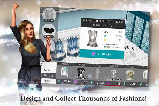 Fashion Empire - Boutique Sim apk screenshot