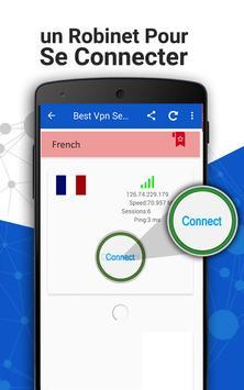 VPN proxy master France screenshot 5