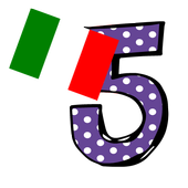 italy number memory game icon