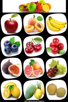 Learn French Fruits poster