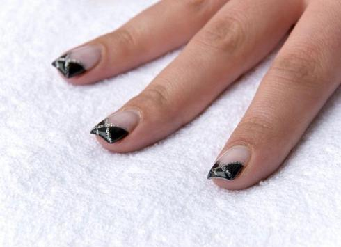 french nail ideas poster