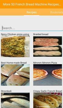 French Bread Machine Recipes screenshot 1