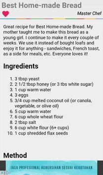 French Bread Machine Recipes screenshot 2