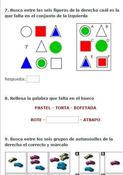 Test de Inteligencia CI poster