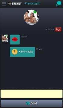 Frendy Gay Bisex chat incontri apk screenshot