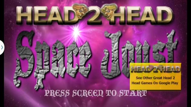 Head 2 Head Space Joust poster