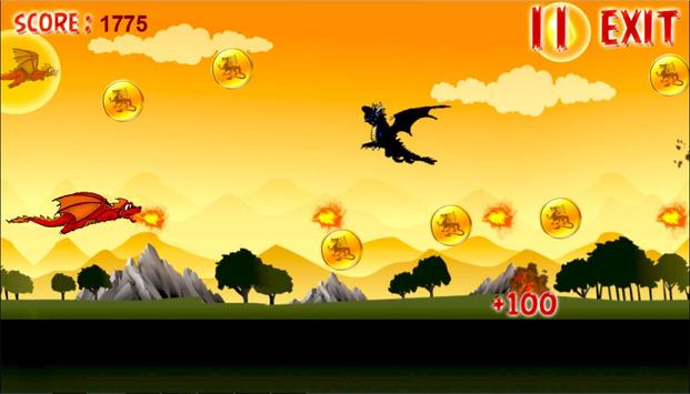 Fire Angry Dragons apk screenshot