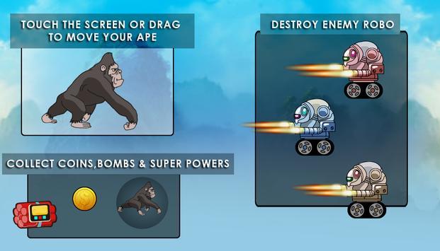 Jumping Angry Ape screenshot 6