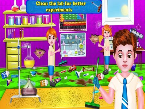 17 Schermata Aula giochi di pulizia