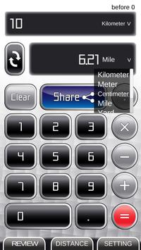 Km to Mile: Unit Converter and Calculator screenshot 1