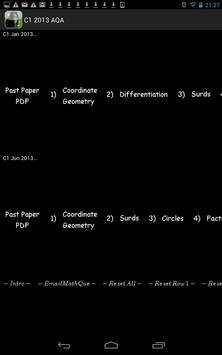 C1 AQA 2013 Past Papers screenshot 5