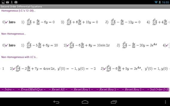 Differential Equations II APK Download Free Education APP for – Differential Equations Worksheet