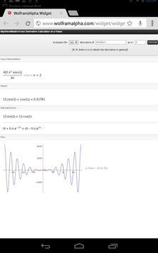 Differentiation Calculator + apk screenshot