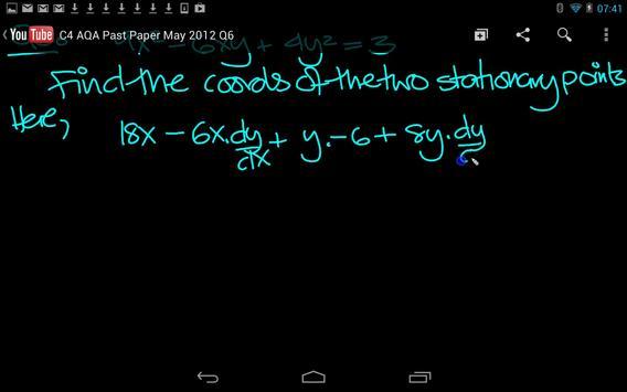C4 AQA 2012 Past Papers apk screenshot