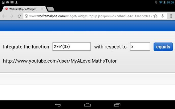 Integral Calculator screenshot 1