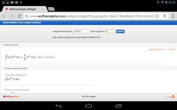 Integral Calculator screenshot 5
