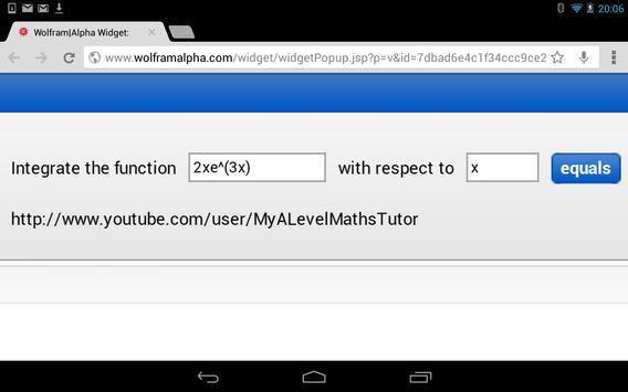 Integral Calculator screenshot 6