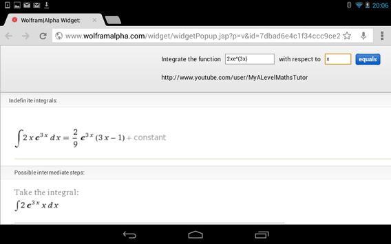 Integral Calculator screenshot 9