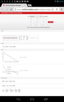 Matrix Char Poly Calculator screenshot 2