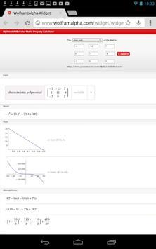 Matrix Char Poly Calculator screenshot 5