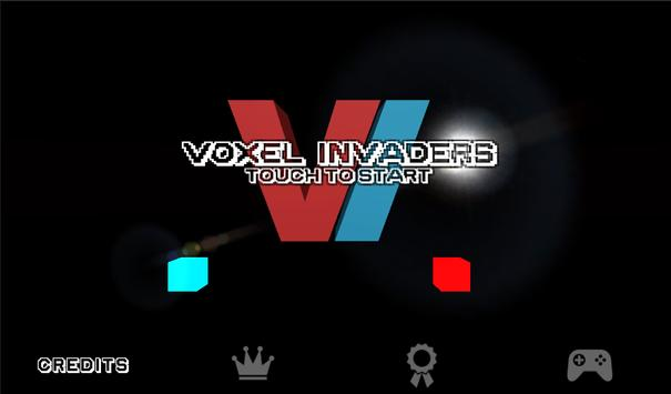 Voxel Invaders apk screenshot