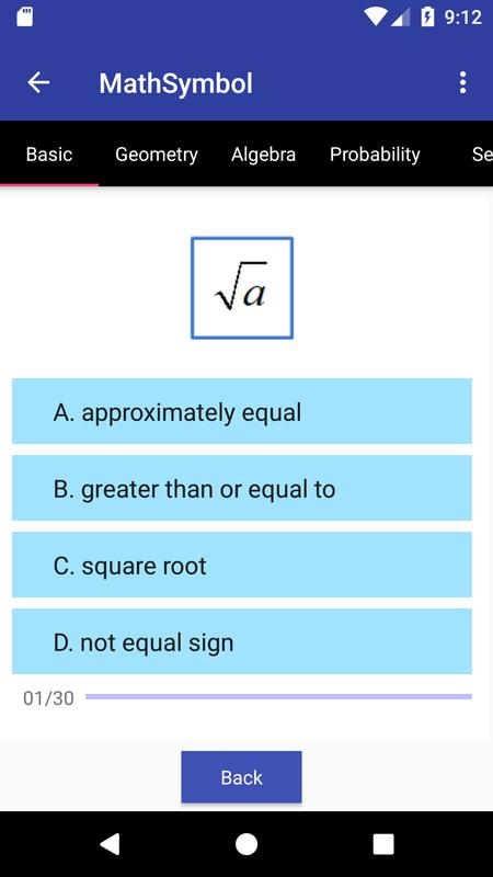 Math Symbol For Android Apk Download