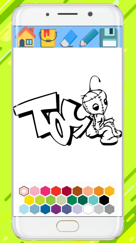 Graffiti Coloring Book for Android - APK Download